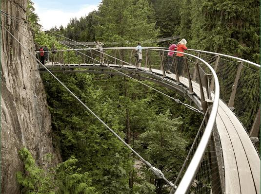 Cầu treo Caplilano