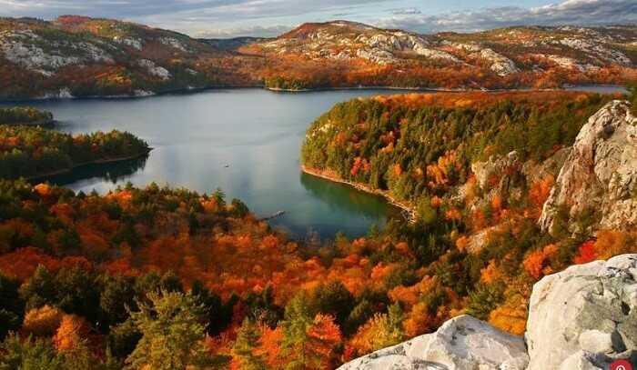 Đất nước Canada với thiên nhiên tươi đẹp