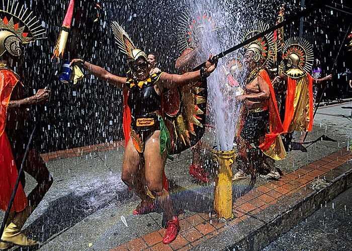 Một lễ hội đầy màu sắc tại vùng Caribbean