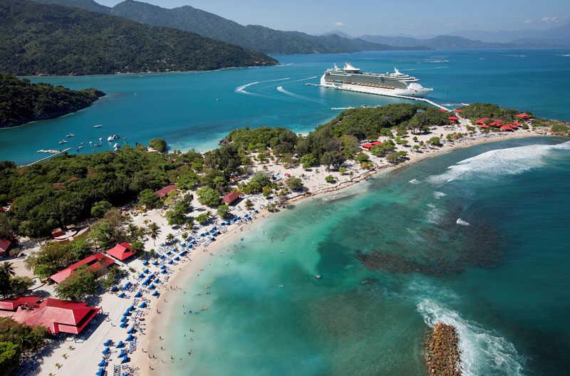 Cảnh đẹp ở Caribbean